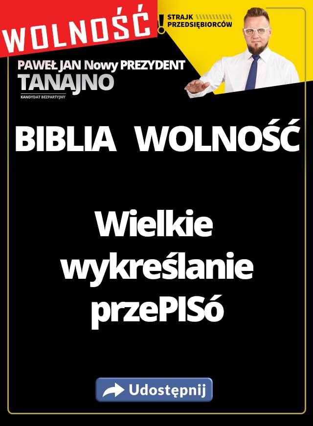 Biblia WOLNOŚCI